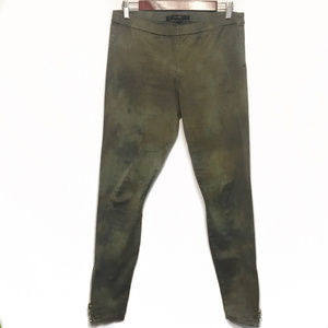 Joes Jeggings in Olive SIze Large
